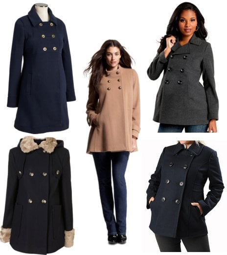 Maternity Pea Coats For Winter Popsugar Family