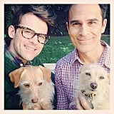 Brad Goreski got his pups in the Thanksgiving fun. Source: Instagram user mrbradgoreski