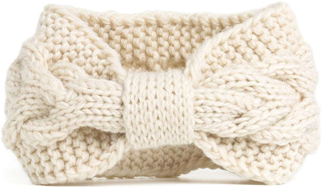 Nishaer Chunky Cable Knitted Headband
