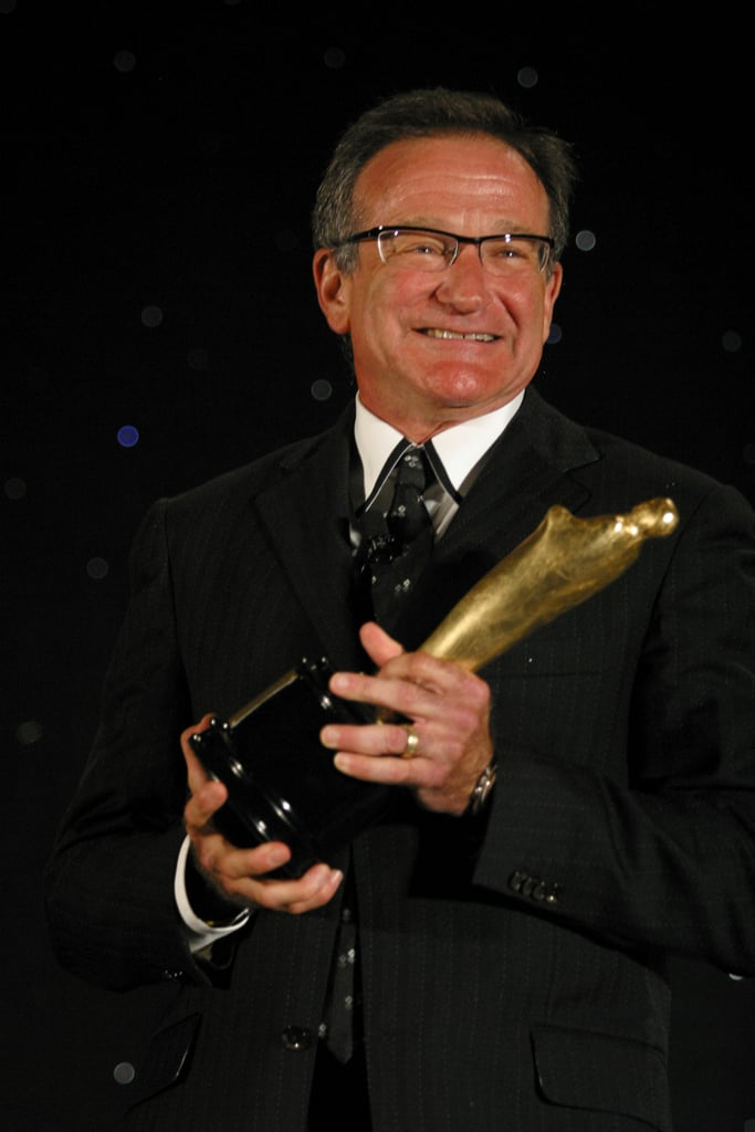 Robin received a career achievement award at the Chicago International Film Festival in July 2004.