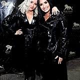 Christina Aguilera and Demi Lovato