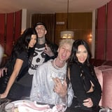<div>Machine Gun Kelly's Birthday Turned Into a Double Date With Megan Fox, Kourtney, and Travis</div>