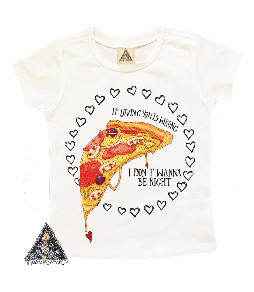 Pizza Love Tee Valentine S Day T Shirts For Kids Popsugar Family