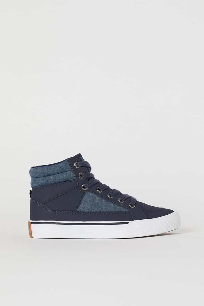 Dark Blue High Tops