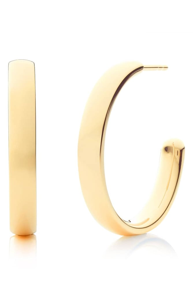 Monica Vinader Fiji Large Hoop Earrings