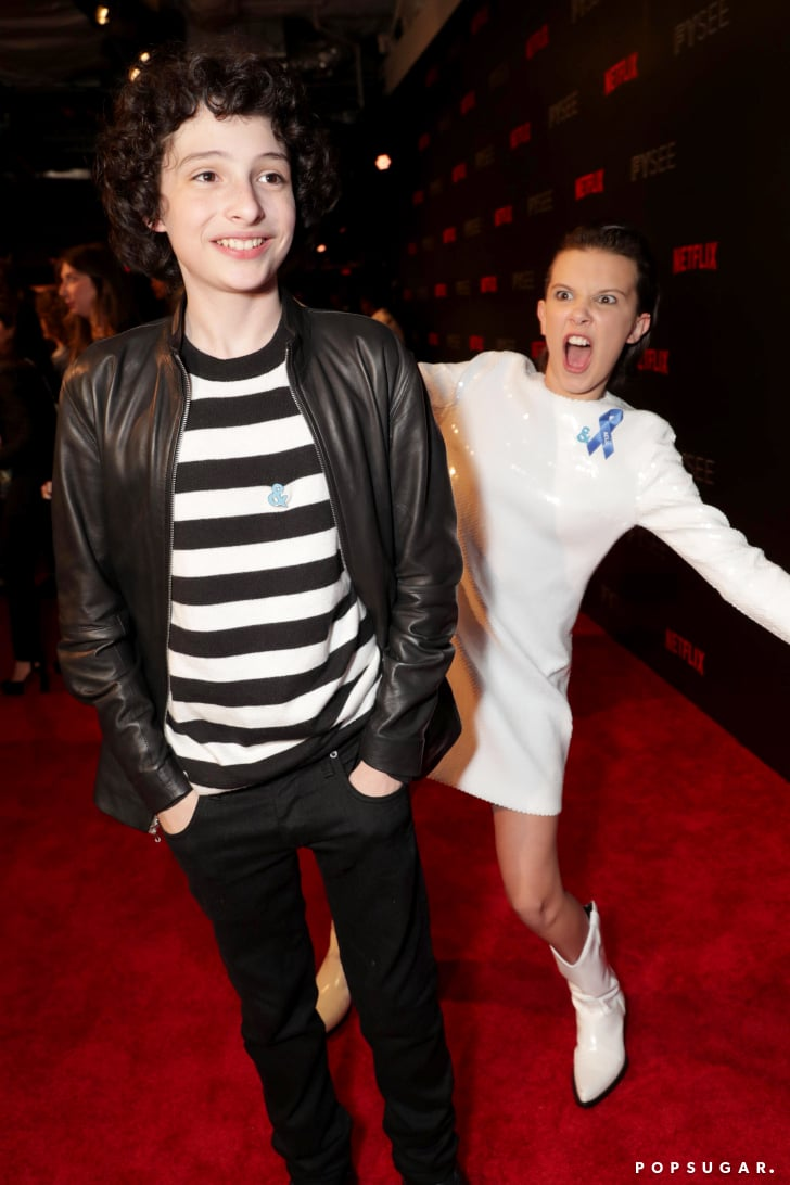 Millie Bobby Brown And Finn Wolfhard Pictures Popsugar