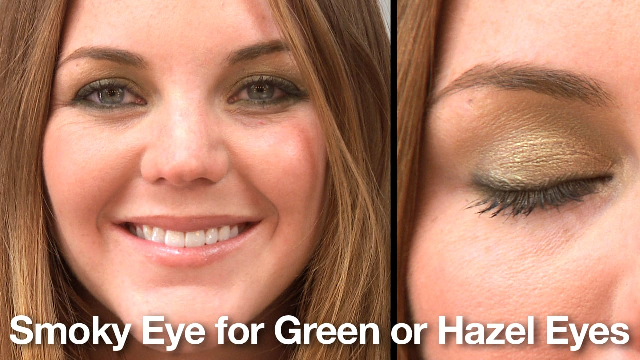 How To Create A Smoky Eye For Green Eyes Popsugar Beauty