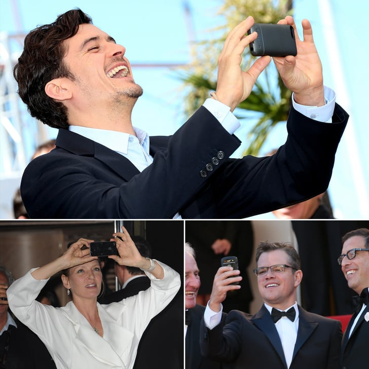 Stars Get Snap Happy at Cannes