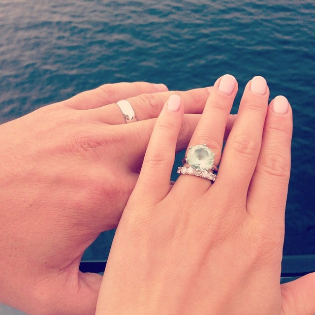 Big engagement ring inspiration popsugar love sex junglespirit Choice Image