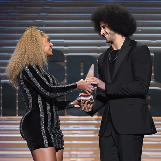 Beyonce and Colin Kaepernick 2017 Sports Illustrated Awards