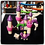 Plan Toys will introduce their Fairy Tale Blocks, their first pink-and-purple-colored building blocks.