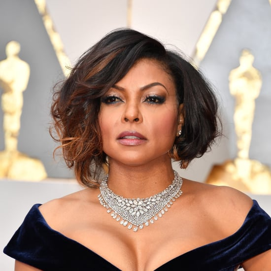 Taraji P. Henson's Hair and Makeup at the 2017 Oscars