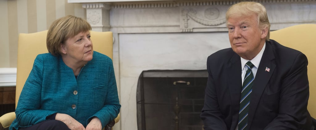 Donald Trump Refused to Shake Angela Merkel's Hand and the Internet Is in Disbelief