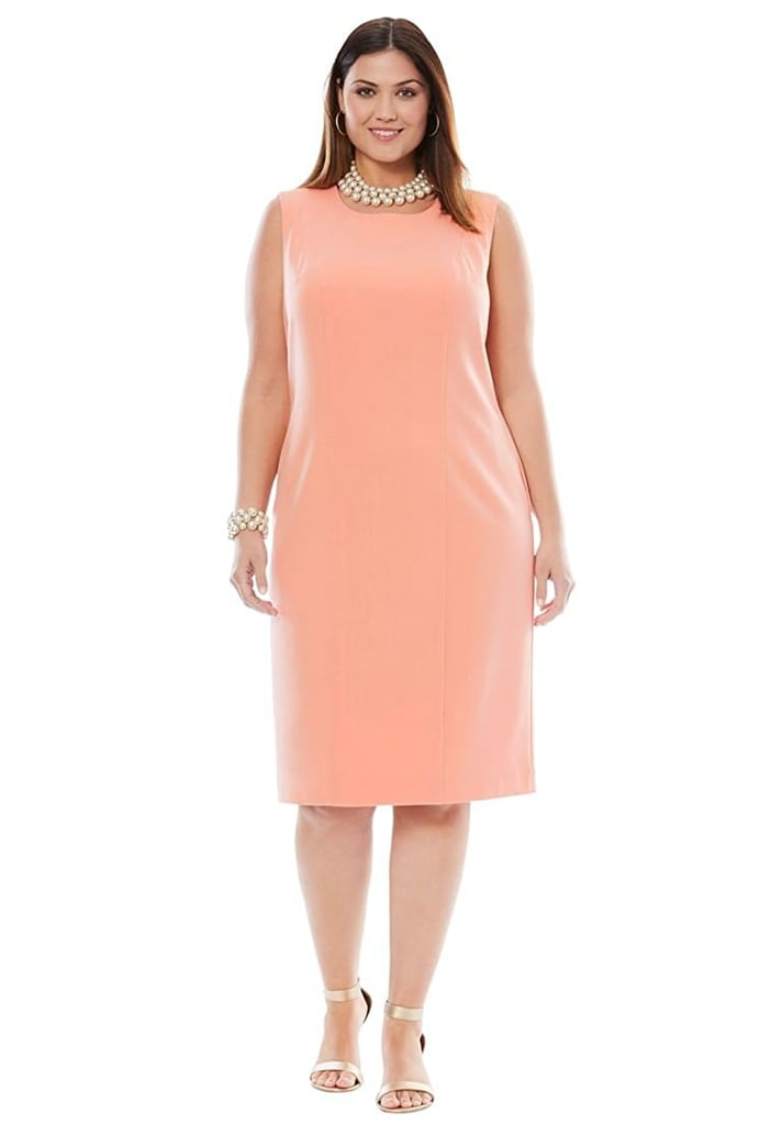 Jessica London Women's Bi-Stretch Sheath Dress
