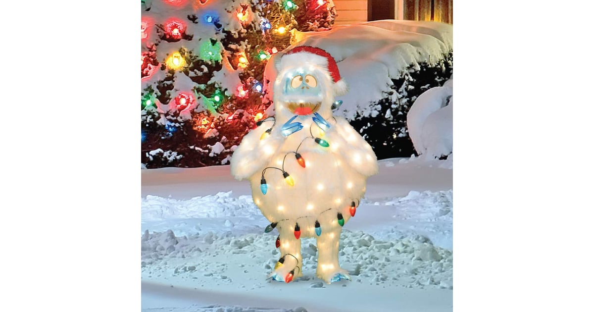 Abominable Snowman Pre Lit Christmas Yard Art The North Pole Has Competition Amazon S Outdoor Holiday Decor Is Worthy Of A Winter Wonderland Popsugar Home Photo 33