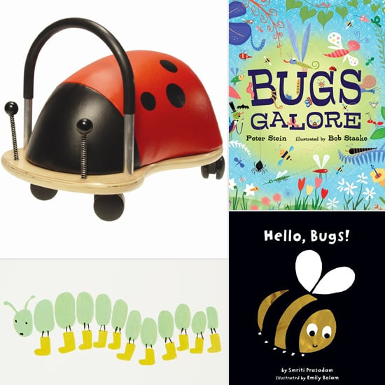 Bug Books, Games, and Decor For Kids