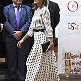 Letizia in Massimo Dutti, September 2018