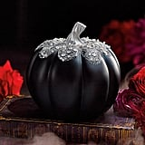 Black Bejeweled Pumpkin