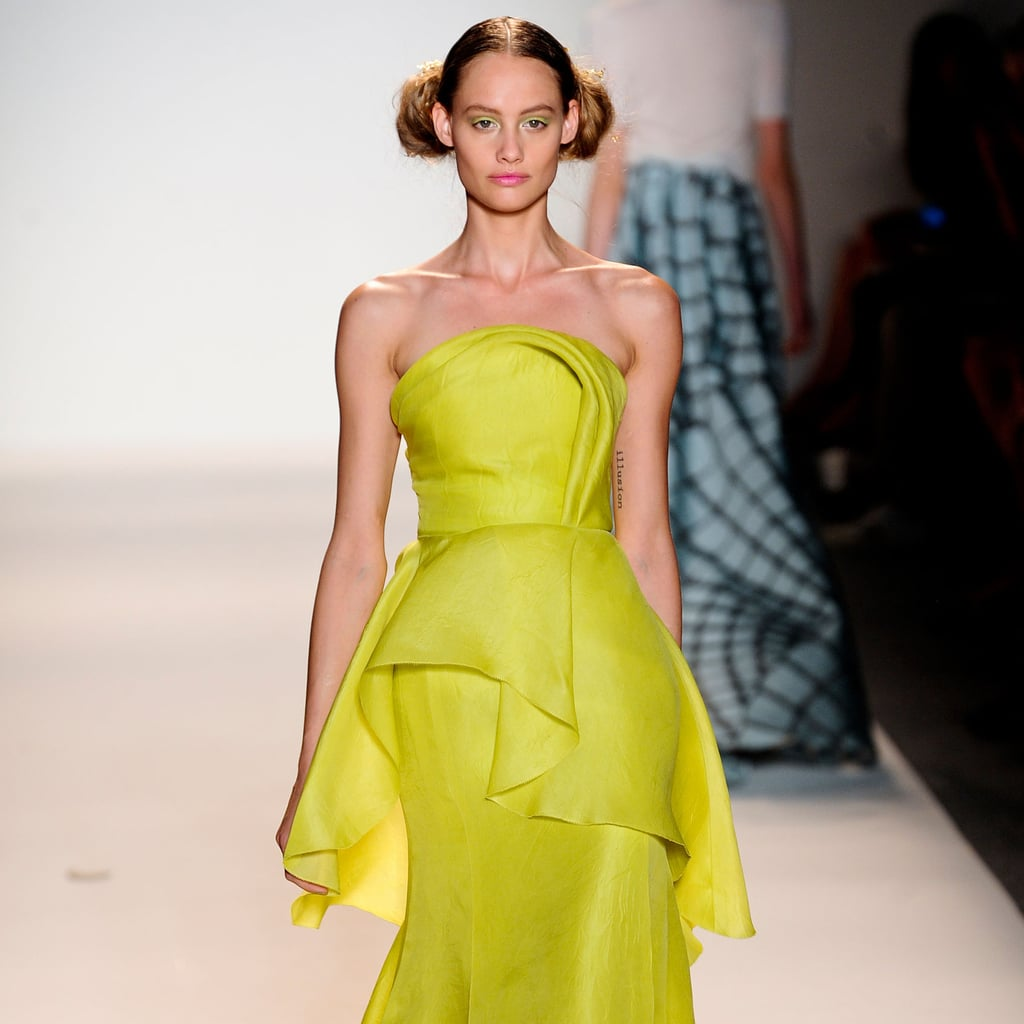 lela rose spring 2014 runway show ny fashion week
