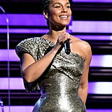 Alicia Keys at the 2020 Grammy Awards