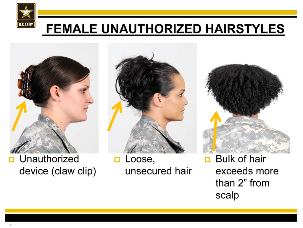 Women With Natural Hair Petition Army Regulation 670-1 | POPSUGAR Beauty