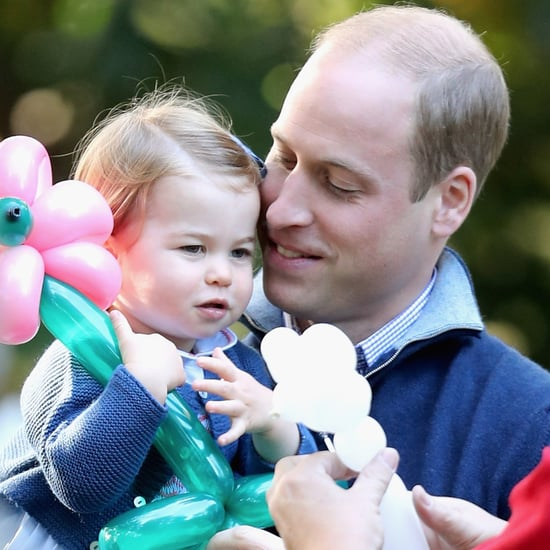 Prince William With Princess Charlotte | Pictures