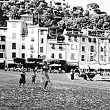 """Portofino in Black & White."""