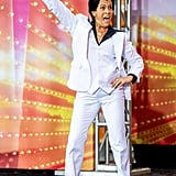Hoda Kotb as Tony From Saturday Night Fever