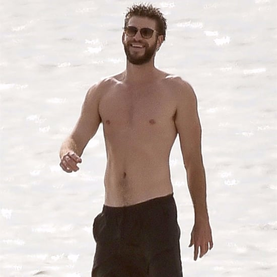 Liam Hemsworth Shirtless in Georgia Pictures October 2017