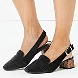 Marks and Spencer Slingback Square Toe Loafers