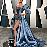 Candice Swanepoel at the Vanity Fair Oscars Afterparty 2020