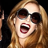 Round sunglasses for Tom Ford Spring '12. Source: Fashion Gone Rogue