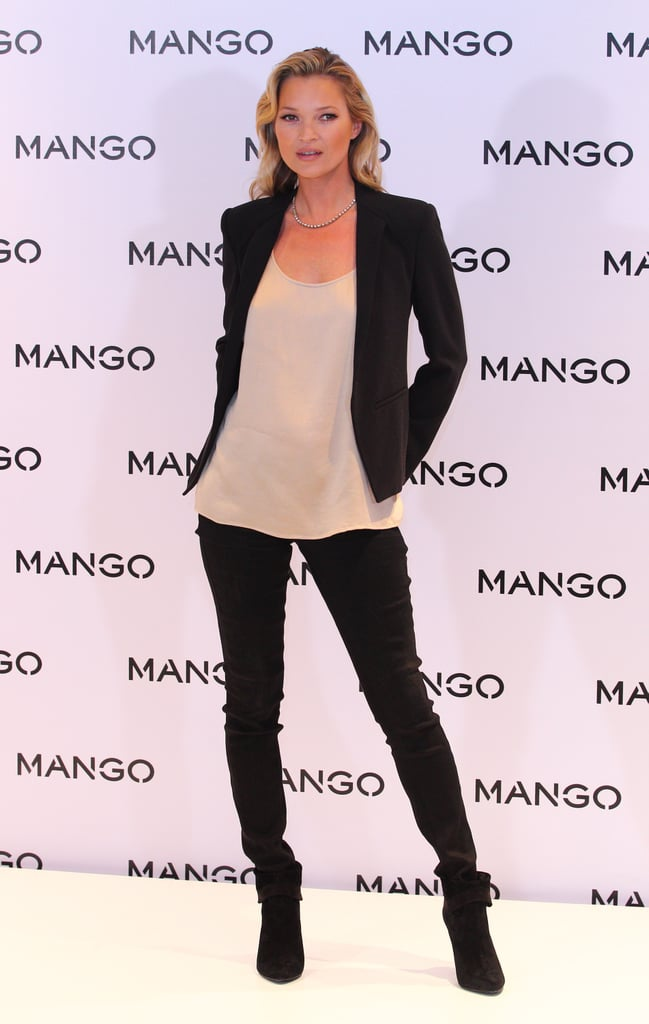 "Kate Moss reported to the Mango shop on London's Oxford Street this morning for a photo call. The press event was held to officially launch Kate as the face of the brand's Spring/Summer 2012 campaign. A similar bash was held in Paris last May to introduce a TV advertisement she created with photographer Terry Richardson. Kate's new deal with the company is more comprehensive, and she's happy about the progression. Kate said of working with Mango, ""I'm really excited to be working with Mango for Spring/Summer 2012. We had a great time shooting the campaign. The team are so easy to work with, and shooting with Terry is always fun.""   Today, Kate was decked out in head-to-toe Mango gear that she selected herself. She also styled a few looks that appear in the store's windows. Kate worked with Terry Richardson again on a new TV spot — check out Kate Moss in Mango's ""Spy Game"" campaign!"