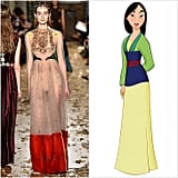 Mulan Wearing Valentino Couture