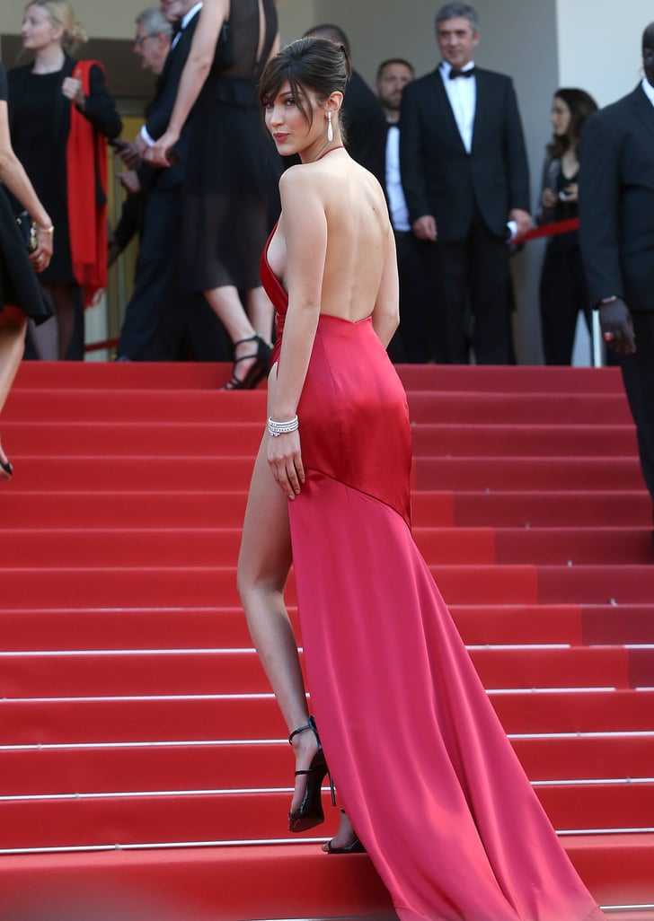 Bella Hadid Red Dress At Cannes 2019 Popsugar Fashion