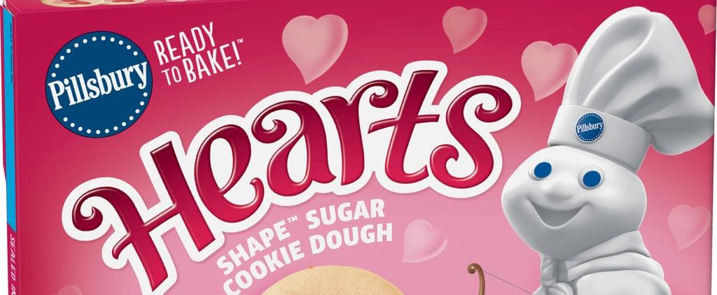 Pillsbury Released 2 Heart Sugar Cookies For Valentine's Day