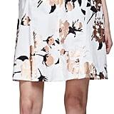 Lela Rose Sleeveless Metallic-Floral A-Line Dress, Copper ($1,095)