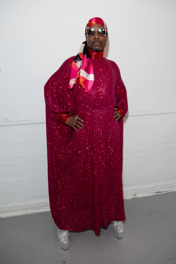 Billy Porter at the Ashish Fall 2020 Show