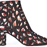 Saint Laurent Jacquard LouLou Ankle Boots