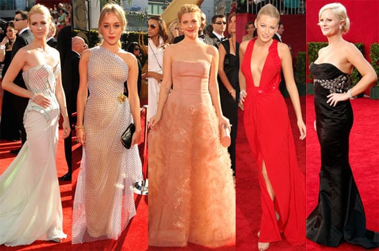 Photos of Drew Barrymore, Chloë Sevigny, January Jones, Blake Lively And Amy Poehler on The 2009 Emmy Red Carpet
