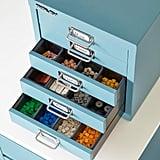 Bisley Blue 5-Drawer Cabinet