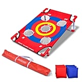Bullseye Bounce Cornhole Toss Game