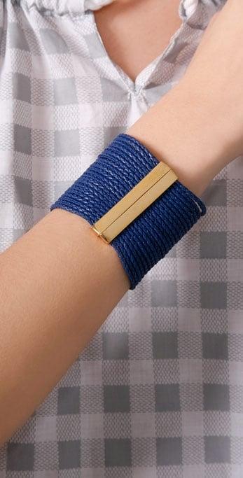 Accessories & Beyond Braided Cuff