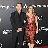 Tom Hanks and Rita Wilson at Inferno Premiere in Italy 2016