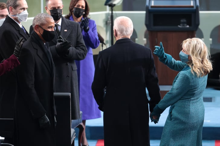 Joe Biden Wears a Navy Ralph Lauren Suit For Inauguration ...