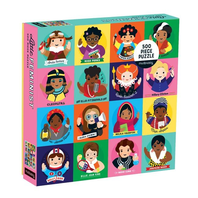 Little Feminist 500-Piece Family Puzzle