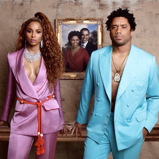 Ciara and Russell Wilson Beyoncé and JAY-Z Halloween Costume