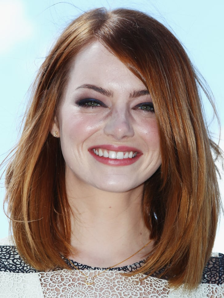 Emma Stone Red Hair Celebrity Pictures Popsugar