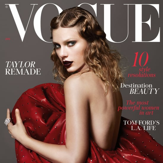Taylor Swift British Vogue Cover January 2018