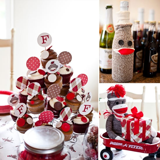 sock monkey baby shower best baby shower ideas and themes